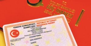 اخذ کارت اقامت ترکیه