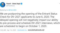 نتایج لاتاری 2021 به تعویق افتاد